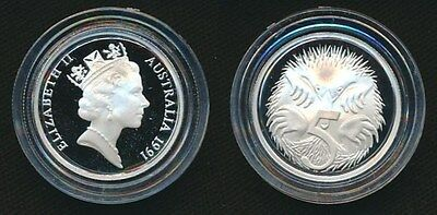 Australia 1991 5c Silver Proof Masterpieces Coin