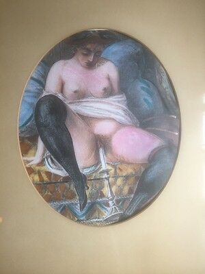 RARE- Stunning Print - Secret Life of the Victorian Bourgeoise late 1800s erotic