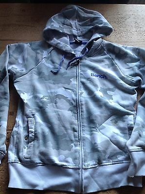 Bench Gym Fitness Hoody size L 12-14 with thumb holes