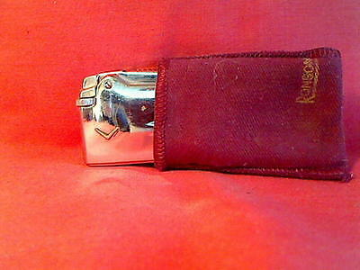 @@@ - A NICE SHINY CHROME RONSON PREMIER Mk1 CIGARETTE LIGHTER - G W O  @@@