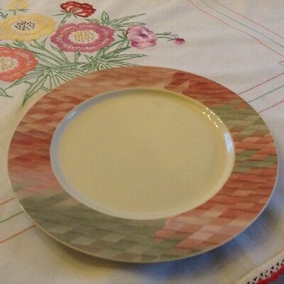 "Villeroy and & Boch 'Collage' dinner plate 10 1/2"" lovely"
