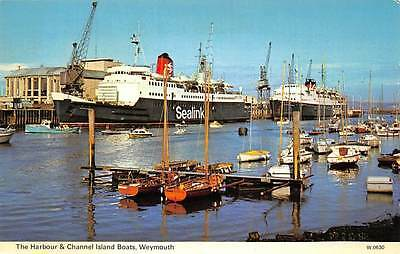 The Harbour & Channel Island Boats, Weymouth, ship, Sealink, boats, bateaux