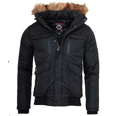 Geographical Norway BENEZI Herren Winter Jacke warme jacke bomber jacke outdoor