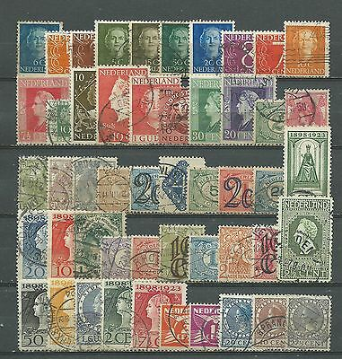Netherlands, 50 Various, Used