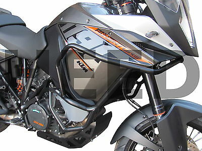 Crash Bars Pare carters Heed KTM 1190 / 1050 ADVENTURE - noir
