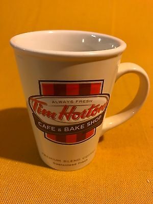 Tim Hortons 2012 Limited Edition Coffee Mug with Handle Cup Cafe &Bake Shop NWOT