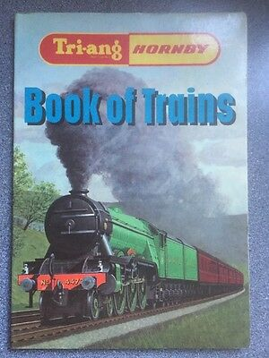 vintage BOOK of TRAINS - Tri-ang HORNBY by O S Nock -model railways history