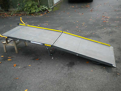 1290 Extra Large Portaramp Disabled / Wheelchair Scooter ramp 8 Ft long Used