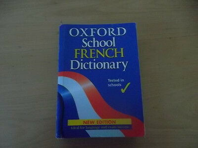 Oxford School FRENCH Dictionary - 2004 Edition - Paperback