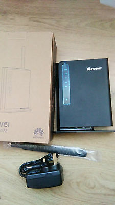 HUAWEI LTE CPE E5172 As-22 4G Router GATEWAY 150MBPS WIFI simfree with antenna