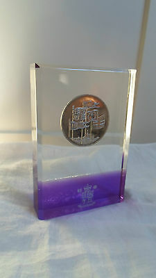 Royal Mint British Coin Paperweight (Lot-1)