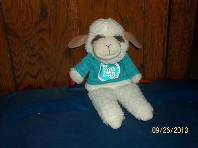 "Direct Connect 1993 Lamb Chop Hand Puppet Plush Shari Lewis 11 1/2"" Tall"