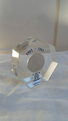 Royal Mint British Coin Paperweight (Lot-4)