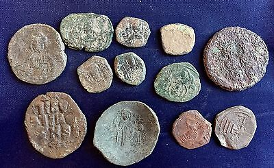 Selection Of 12 Byzantine Coins /1530/