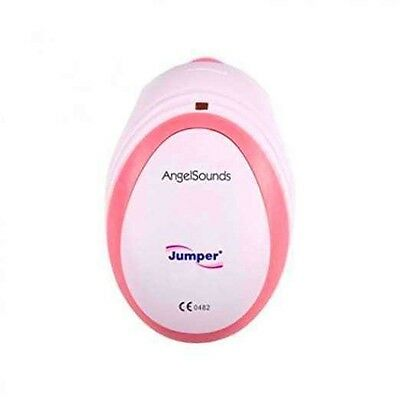 New Angelsounds Baby Fetal Doppler Angel Sound Heart Monitor Detector With FREE