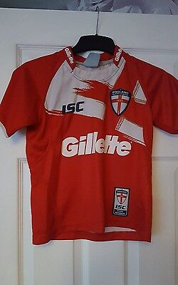 boys england rugby league shirt