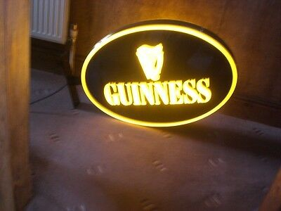 Guinness Advertising Sign / Bar Light For Indoor / Outdoor Use
