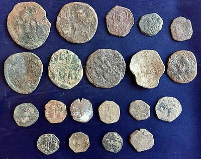Lot Of 20 Byzantine Coins /1532/