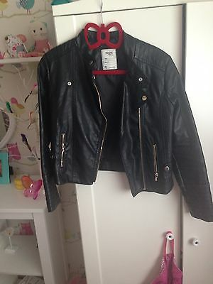 Girls Mayoral Leather Look Jacket
