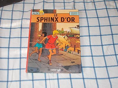 BD alix le sphinx d'or