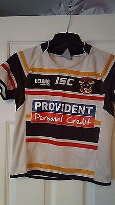 boys bradford bulls rl signed shirt 8yrs
