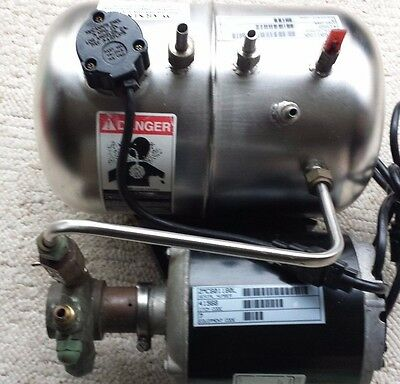 McCann's Carbonator Model E400397 With Pump Super Clean Tested & Works Great!!