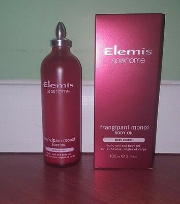 Elemis Frangipani Monoi  Body Oil 3.4 fl oz 100 ml