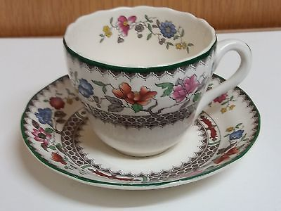 Vintage  Spode  -  Chinese  Rose  From  A Spode Design  Small  Cup  And  Saucer