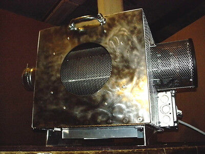 Made In USA Premium 1 Lb Capacity Electric Coffee Roaster Infrared Heat, 60 Rpm