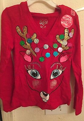 NWT Girls Justice Shirt Size 6 Free Ship