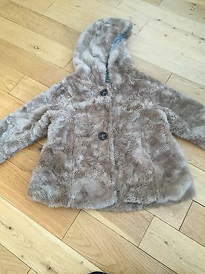 Girls Faux Fur Next Coat