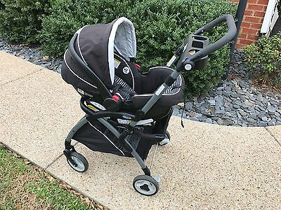 Graco Snugride 35 Click Connect Car Seat, and Stroller Combo