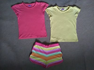 Girls shorts and tops size 4-5 years