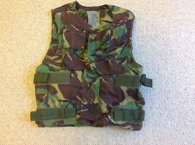 BRITISH  Army Woodland DPM Body Armour Cover Flak Vest 190/108
