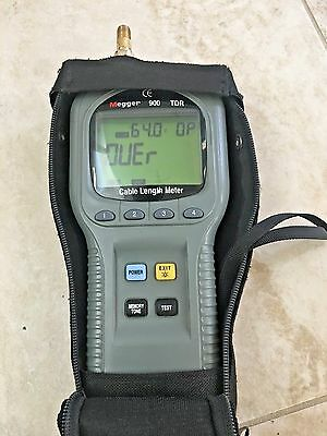 Megger 900 TDR 900 Hand-Held Time Domain Reflectometer / Cable Length Meter