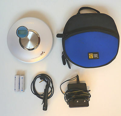 Rare Lecteur CD Sony Walkman D-EJ250 CDr/w Rechargeable G-protection
