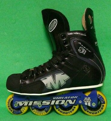 Mission PROTO SI Roller Hockey Senior Sz 10D  Never Used