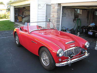 1957 Austin Healey Other red/black 57austin healey 100/6, 5 year restoration