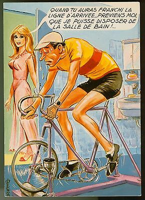 humour -cyclisme -CARRIERE