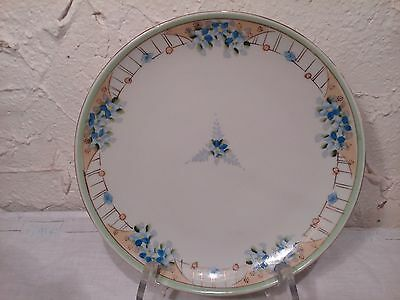 Hand painted Japan Plate 10""