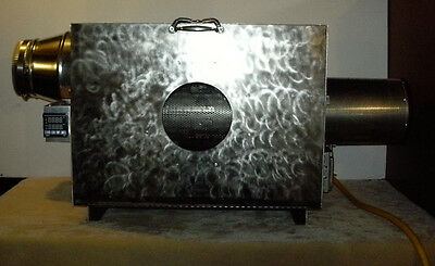 Made In USA 5 Lb Capacity Electric Coffee Roaster, Infrared Elements, 60rpm, Pid