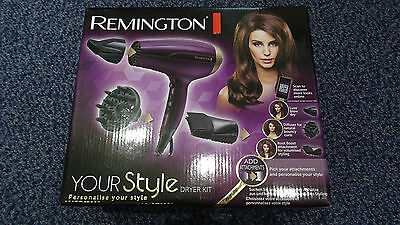Remington Your Style Hair Dryer Kit - D5219 - Brand new
