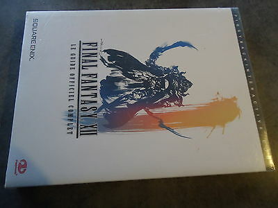 Guide officiel Final fantasy XII 12 Neuf sous blister Version francaise PS2