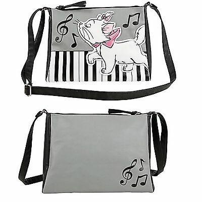 Disney The Aristocats Marie Cat Piano Bag Purse Tote Music Loungefly NWT