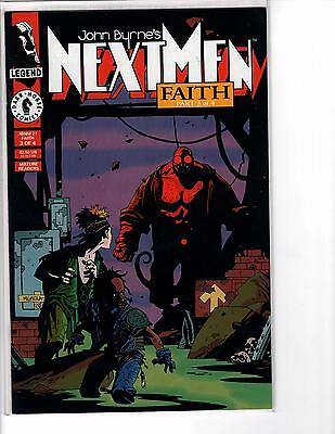 NEXT MEN #21 --  1ST COLOR HELLBOY -- 1993 -- High Grade VF/NM condition