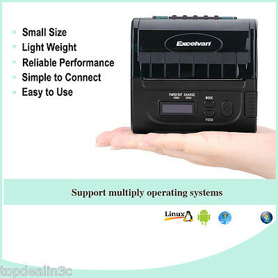 80mm WIFI Wireless Bluetooth ESC/POS Thermal Printer for Windows/ Linux/Android
