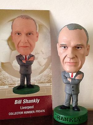 Corinthian Prostar Bill Shankly Liverpool PRO476 Rare With Card