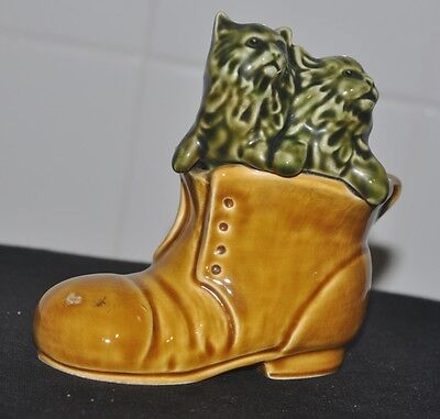 Vintage Sylvac Kittens In A Boot No.4977