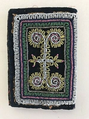 Iroquois Beaded Sewing Kit, c. 1820-40