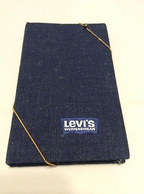 RARE Vintage Levi's Levi Strauss Womenswear Denim Jeans Journal Notebook NEW